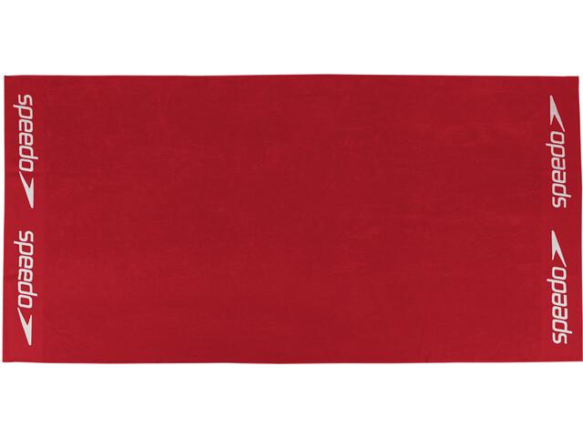 speedo Leisure Handdoek 100x180cm, red